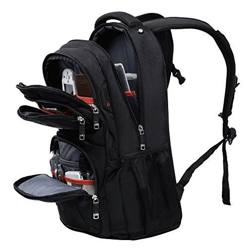 2d1999c3c63c ASPENSPORT Laptop Bags School College Students Water Resistant Backpack 30L  Multi-Functional Pocket for Boy and Girl Travel 17inch Computer Notebook  Durable ...