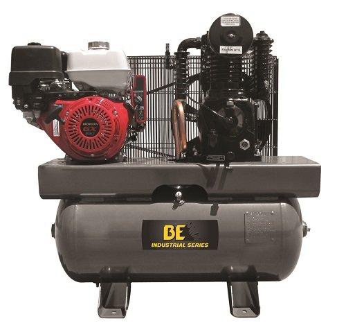 B E Pressure AC1330HEB 30 gal Compressor, 389 cc Honda GX...