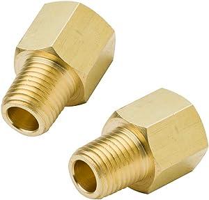 Legines Brass Pipe Fitting, NPT Adapter 1/2