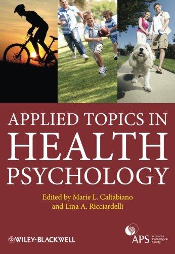 Applied Topics in Health Psychology [Marie Louise Caltabiano - Lina Ricciardelli] (Tapa Blanda)