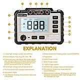 LIUMY Insulation Resistance Tester, 250V ~ 1000V