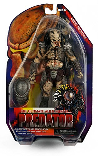 "Predators 7"" Ghost Predator Action Figure NECA Series 16"