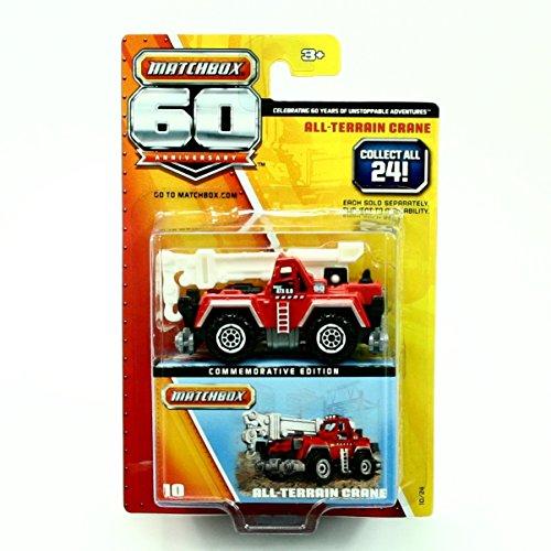 Matchbox 2013 60th Anniversary All-Terrain Crane 10/24, -