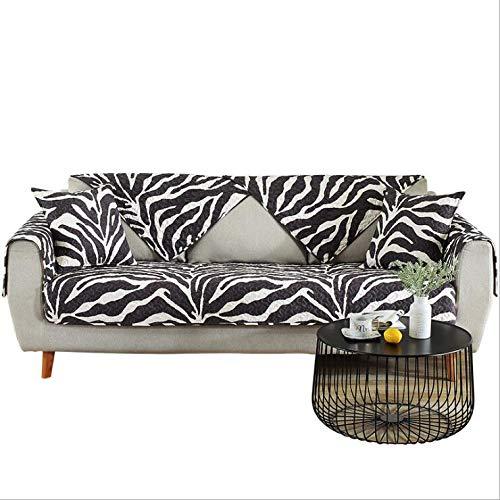 Brilliant Amazon Com Sqinaa Zebra Pattern Sofa Cover Cotton Quilted Machost Co Dining Chair Design Ideas Machostcouk