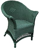 Wicker Loom Chair - Sage