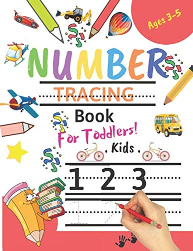 Halloween Writing Activities Elementary (Number Tracing Book for Toddlers Ages 3-5: Number tracing books for kids ages 3-5,Number tracing workbook,Number Writing Practice Book,Number Tracing ... Great Gift for Toddlers and)