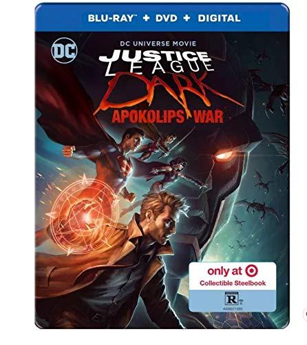 Amazon Com Justice League Dark Apokolips War Target Exclusive Blu Ray Dvd Digital Movies Tv