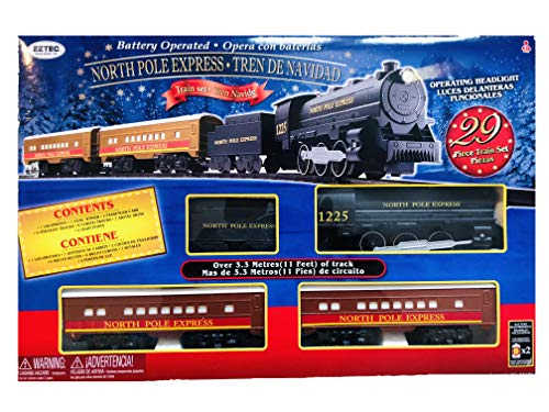EZ-TEC North Pole Express Train Set 29 Piece