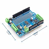 BELONG Standard IIC I2C TB6612 Mosfet Stepper Motor PCA9685 PWM Servo Driver Shield V2 For Arduino Robot PWM Uno Mega R3 Replace L293D