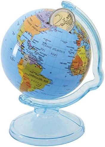 Esfera Hucha Campus University Plástico Cartografía y Meridiano 10cm diámetro: Amazon.es: Electrónica
