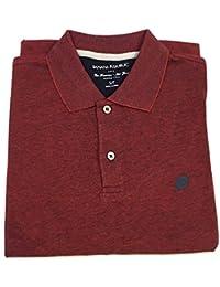 Men's Classic Fit Polo Shirt Elephant Logo
