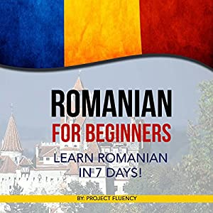 Romanian for Beginners Audiobook