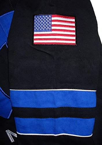 Dodge Mopar Embroidered Cotton Jacket black JH Design Generic XLarge by J.H. Design (Image #3)