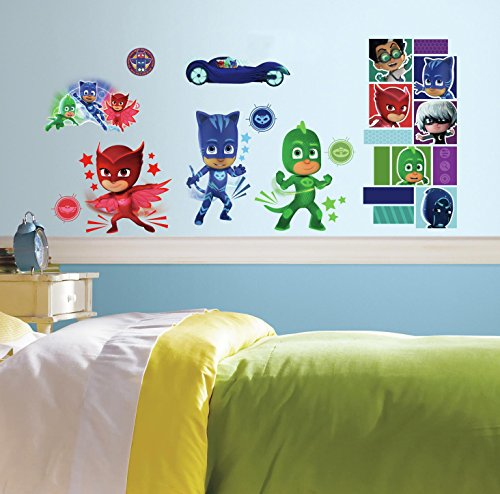 pj masks 13 wall decals