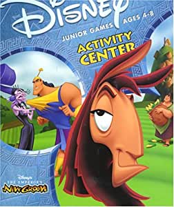 Disney Junior Games Activity Center: The Emperor's New Groove (Ages 4-8) - Mac