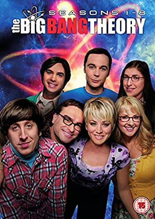 The Big Bang Theory Season 1 8 Dvd 2015 Amazon Johnny