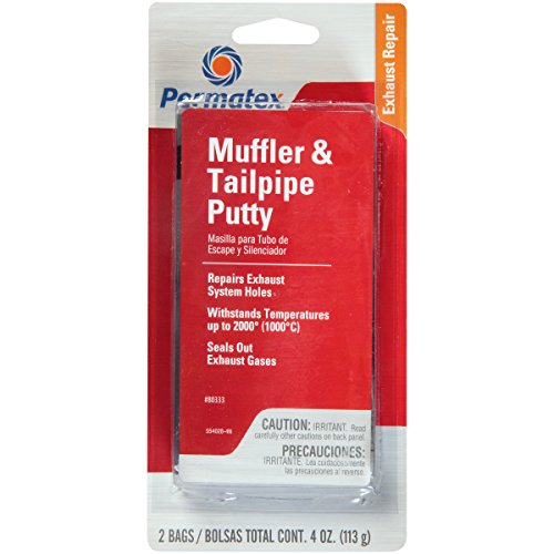 Permatex 80333 Muffler and Tailpipe Putty, 4 oz.