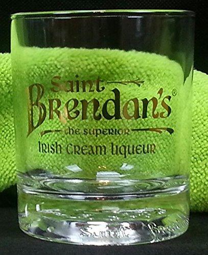 Irish Liqueur (St. Brendan's The Superior Irish Cream Liqueur Promotional Tumbler (Glass))
