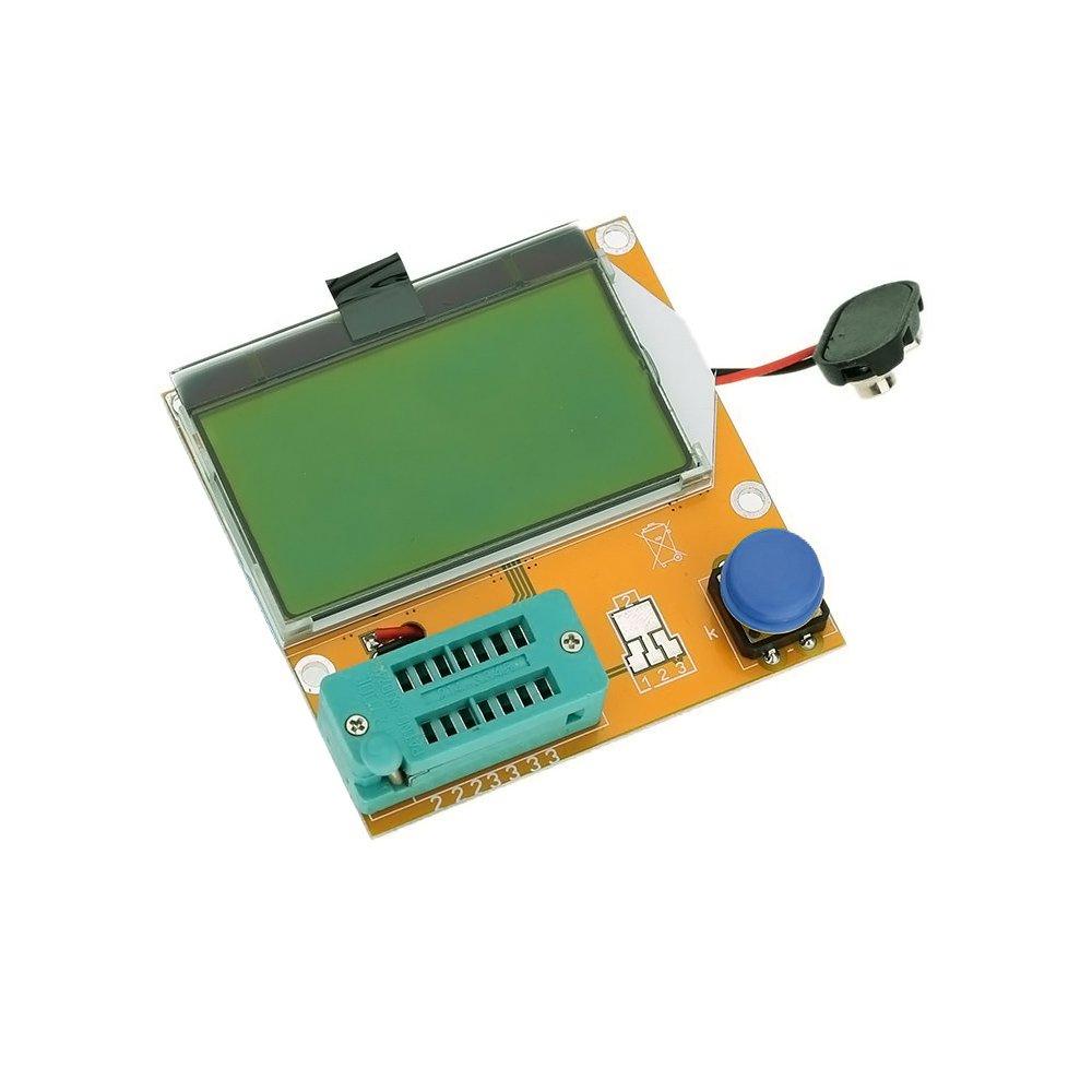 Coomir LCR-t4 ESR Mè tre testeur de Transistor diode Triode Capacitance SCR Inductance M328 1hq0mk5rd8ec8cz8