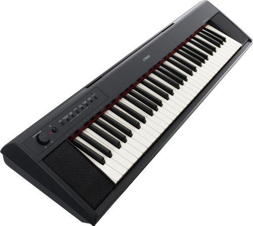 Yamaha np11 piaggero portable digital piano black for Yamaha np11 digital piano