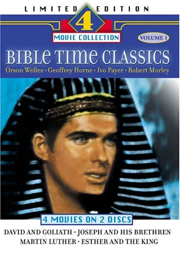 Bible Time Classics: David and Goliath/Joseph and His Brethren/Martin Luther/Esther and the - Goliath Collection