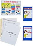 Brady BR801B MSDS Training Binder Insert