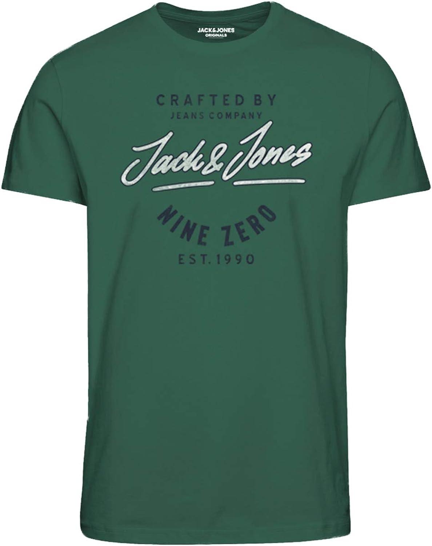 Jack /& Jones Jorpilot Tee SS Crew Neck T-Shirt Homme