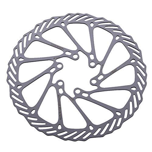 ILLIO 1PCS Clean Sweep Disc Brake Rotor Bike MTB Cycling 160mm Silver CS Disc Brake Rotor for Avid G3 Shimano ()