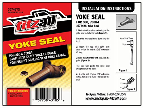 (Teckpak 35746YS Drive Shaft Yoke Seal TH200-4R )