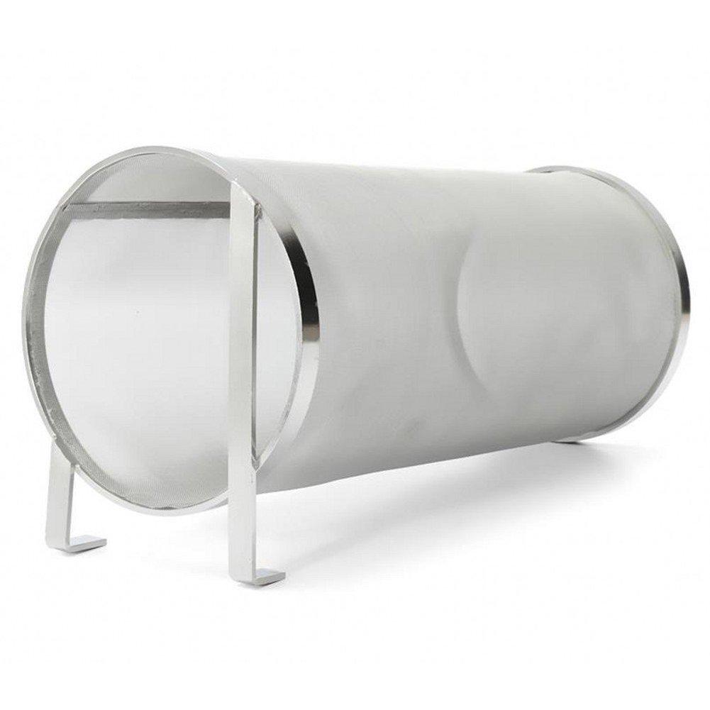 4 x 10 inch Beer Dry Hopper Filter,Stainless Steel Hop Strainer Micron Mesh Beer Filter Cartridge