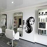 Wall Decal Vinyl Art Decor Hair Salon Beauty Scissors Barber Scissors Haircut (M1091)