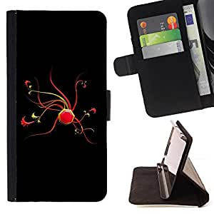 Jordan Colourful Shop - Abstract Red For Apple Iphone 6 PLUS 5.5 - Leather Case Absorci???¡¯???€????€??????????&fno