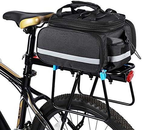 Lixada Bolsa Trasera Bicicleta Impermeable Gran Capacidad Alforja ...