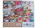 Tea Party Tent ~ 2000 Piece Big Ben Puzzle