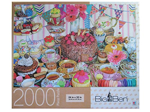 Tea Party Tent ~ 2000 Piece Big Ben Puzzle by Bigben