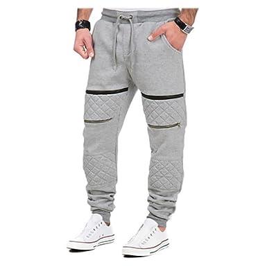 Pantalones de chándal de Hombre Pantalones de Tejido Forrado ...