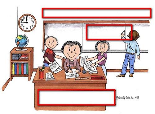 Teacher, High School - FemalePersonalized Friendly Folks Mail - File Sorter