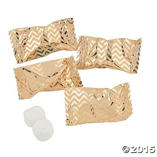 Gold Chevron Buttermint Candy 108 Individually Wrapped Mints Wedding Candy Special Occasion Buy Online In Antigua And Barbuda At Antigua Desertcart Com Productid 13701177
