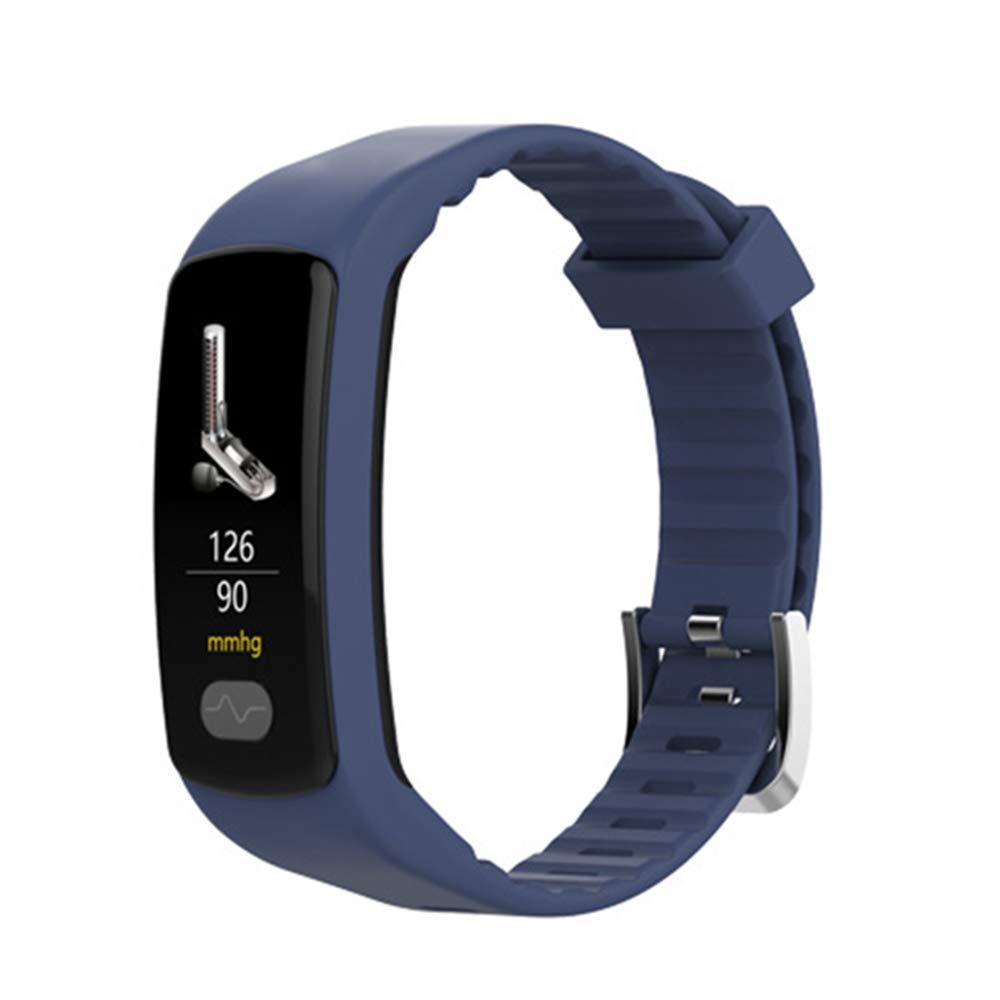 CXL Fitness Tracker Color Pantalla Smart Pulsera E07 ECG ...