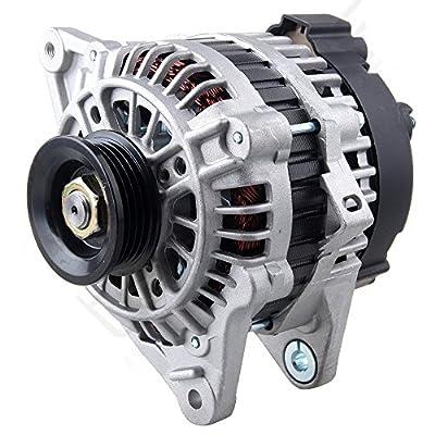 Scitoo Alternators 13639 fit Infiniti I30 1998-2000 I35 2002-2004 Nissan Maxima Murano 1995-2003 Murano 2003-2007 AHI0104 IR/IF 110A