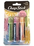 jelly bean chapstick - ChapStick Spring Collection Cotton Candy Green Jelly Bean Peaches & Cream 3 pk
