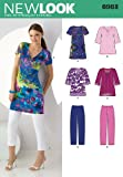 New Look Sewing Pattern 6983 Misses' Separates, Size A (10-12-14-16-18-20-22)