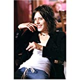 The L Word Katherine Moennig as Shane McCutcheon Smiling Coyly with Finger in Mouth 8 x 10 inch photo