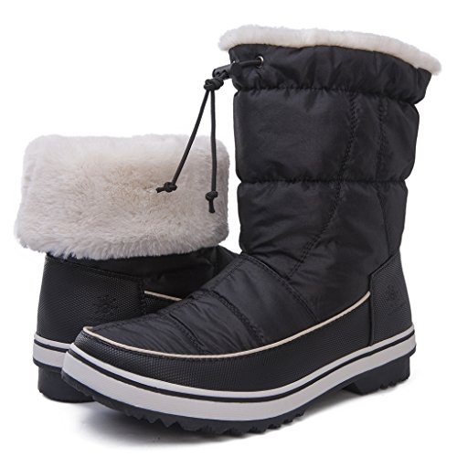 Global Win Globalwins Globalwins Womens Adeline Winter Snow Boots 1720 Nero
