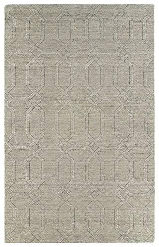 Kaleen Rugs Imprints Modern Hand-Tufted Area Rug, Oatmeal, 8' x ()