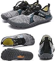 KK Timo Zapatillas De Verano for Mujer Zapatos Antideslizantes De Secado Rápido 朔 Zapatos for Hombres Zapatos De Buceo Zapatos De Buceo Zapatos De Esnórquel Zapatos for Caminar (Gris)