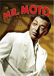 Mr. Moto Collection, Vol. 1 (Mr. Moto Takes A Chance / Mysterious Mr. Moto / Thank You Mr. Moto / Think Fast Mr. Moto) (4DVD)