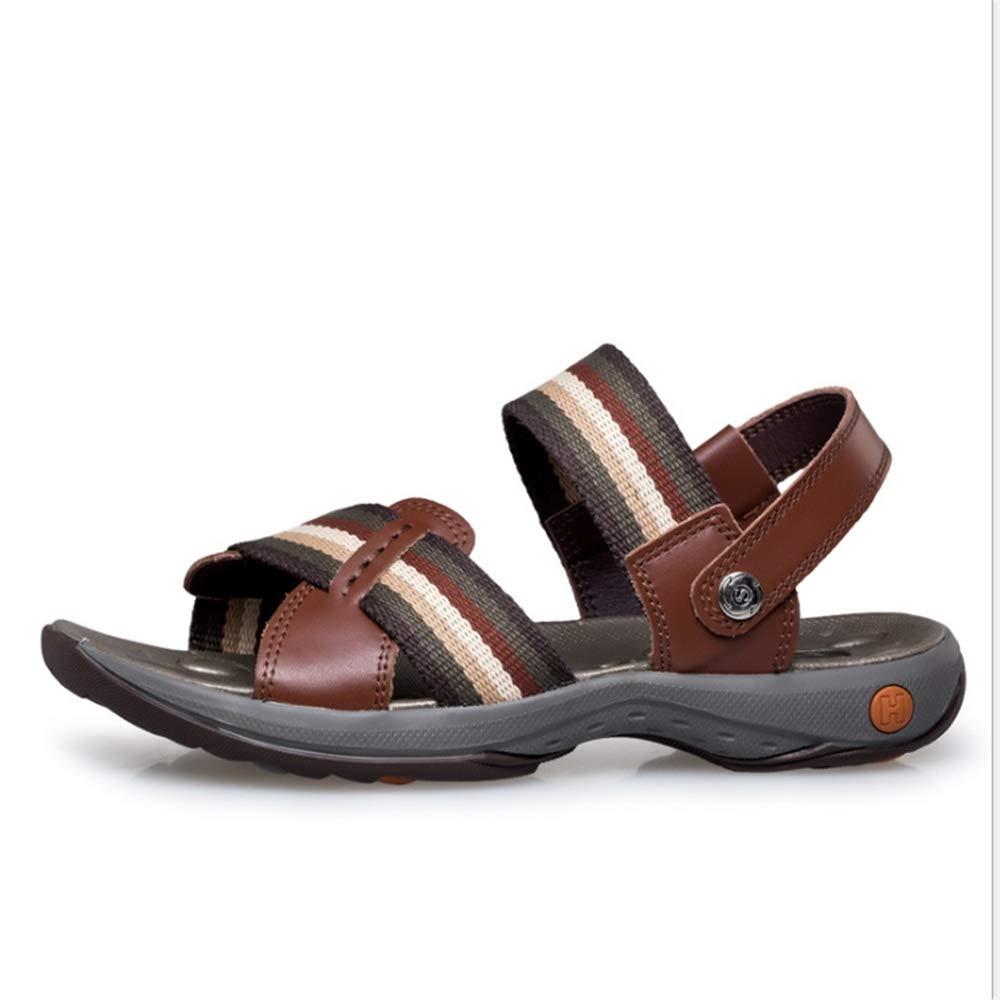 Wangcui Sandalen Herren Outdoor Sports Rutschfeste cm Sandalen Atmungsaktive Freizeitschuhe (23.0-28.5) cm Rutschfeste (Farbe : Braun, Größe : 44 2/3 EU) Braun 3c0af1