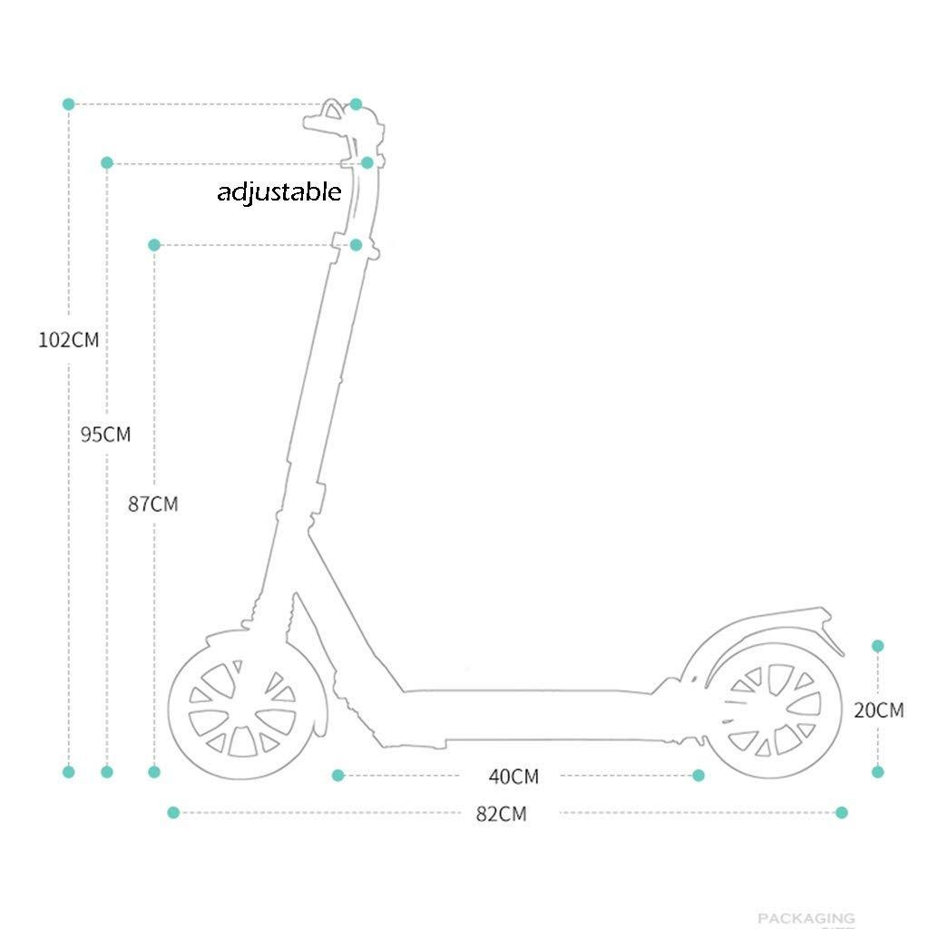 Amazon.com: JSZHBC Scooter para adultos, dos ruedas ...
