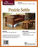 Fine Woodworking's Prairie Settle Plan (Skill Level Intermediate)